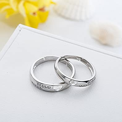 Amazon.com: Tidoo Jewelry - Anillos de plata de ley 925 con ...