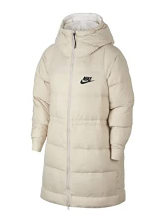 fa924d3e Image Unavailable. Image not available for. Color: NIKE Women's Sportswear  Reversible Down Fill Jacket Phantom/Igloo/Black ...