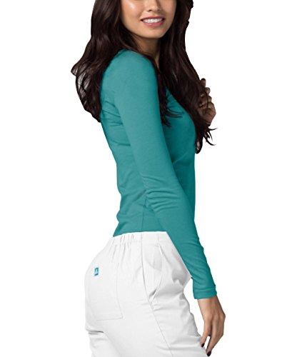 Adar Underscrubs for Women - Long Sleeve Underscrub Comfort Tee