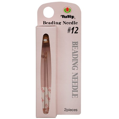 Tulip XTL-3025 Size 12 Beading Needles (2 Pack), 47.5 x 0.35mm ()