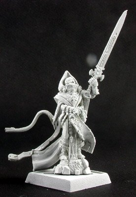 Reaper Arik Overlords Mage Miniature 25mm Heroic Scale Warlord Miniatures
