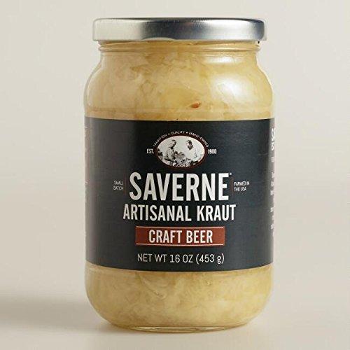 Saverne Craft Beer Artisanal Kraut 16 oz (Pack of 3)