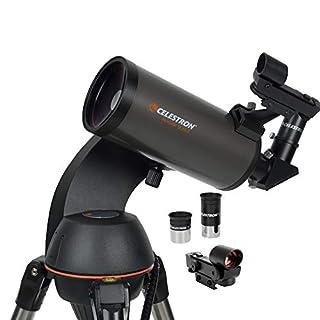Celestron – NexStar 90SLT Computerized Telescope – Compact and Portable – Maksutov-Cassegrain Optical Design – SkyAlign Technology – Computerized Hand Control – 90mm Aperture