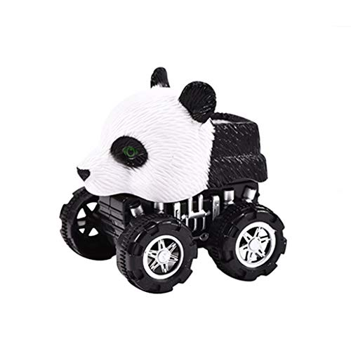 AMOFINY Toys Simulation Animal Model Toy Pull Back Car H03-4 Mini Vehicle Animal Pull Back Cars with Big Tire Wheel Creative Gifts for Kids for $<!--$1.00-->