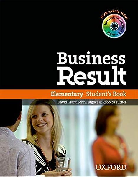 Business Result Elementary. Students Book with DVD-ROM + Online Workbook Pack: Amazon.es: Lane, Alastair, Speck, Chris, Grant, David, Hughes, John, Turner, Rebecca: Libros en idiomas extranjeros