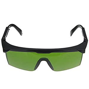 Tinted Anti Laser Safety Glasses Green