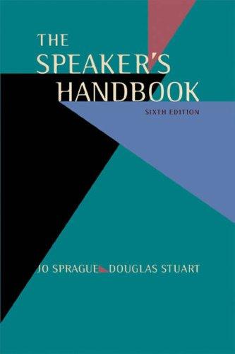 The Speaker's Handbook (Non-InfoTrac Version with Speechmaker CD-ROM)