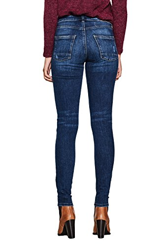 Blu 902 Medium Donna Skinny blue Esprit Jeans Wash wZq8t1WUW