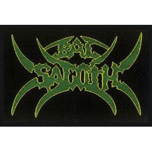 Bal Sagoth Logo Black Metal Music Band Woven Patch