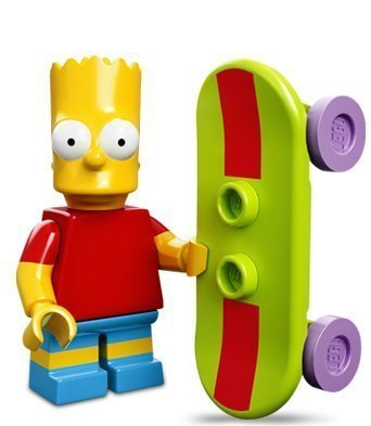 Lego 71005 The Simpsons Series Bart Simpson Character Minifigures