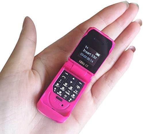 Long Cz J9 World Mini Smallest Flip Mobile Phone Unlocked Pink Amazon Ca Electronics