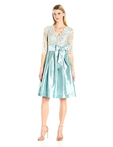Jessica Howard Women's Surplus Fit and Flare, Blue, (Jessica Howard Formal Dresses)
