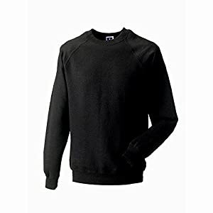 Russell Jerzees Colors Classic Sweatshirt (L) (Black)