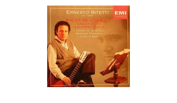Conc.Para la Guitarra Criolla: Waldo de Los Rios: Amazon.es: Música