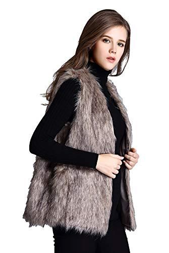 Escalier Women's Faux Fur Vest