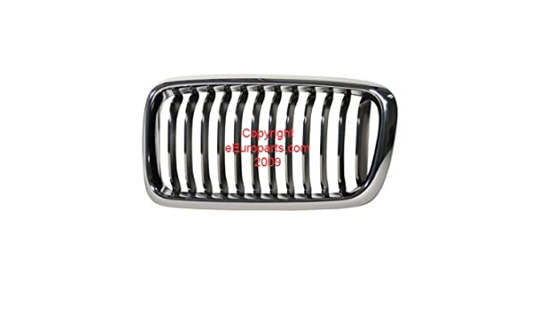 2ea6365c897 Amazon.com  BMW e38 (98-01) GENUINE Kidney Grille LT Front (Chrome Tip)   Automotive