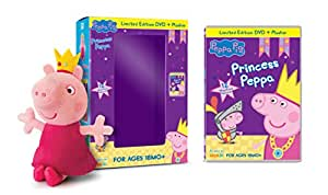 Peppa Pig: Princess Peppa (DVD) (w/ Plush Gift With Purchase)