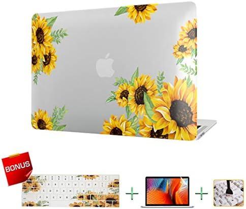 Plastic MacBook Sunflower Keyboard Protector