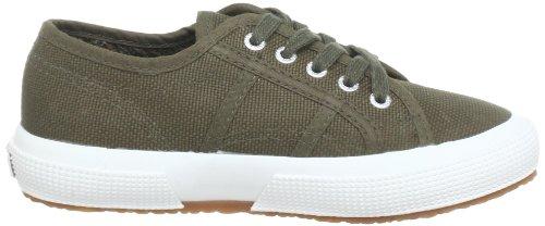 Unisex 18 Verde 595 Green Bambini Sneaker Classic Superga Military Jcot Bianco 2750 q0IW6A