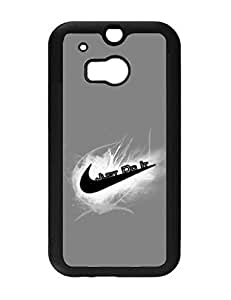 2130163M494439922 Trendy Air Jordan 23 Just Do It Htc One M8 Quote Style Hard Back Case Cover for Htc One M8