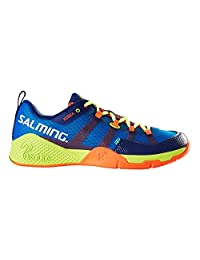 Salming Mens Kobra Squash Indoor Court Mid Top Trainers