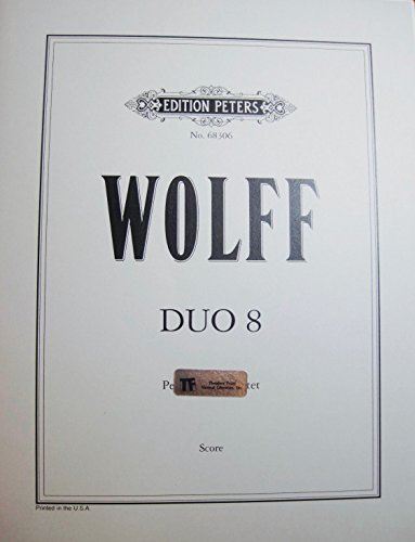 Duo 8 for Violin and Cello Edition Peters No. 68306 ()