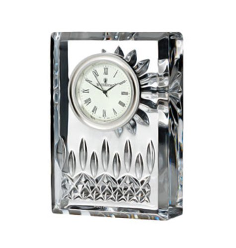 Waterford Lismore Clock - 4 Inch