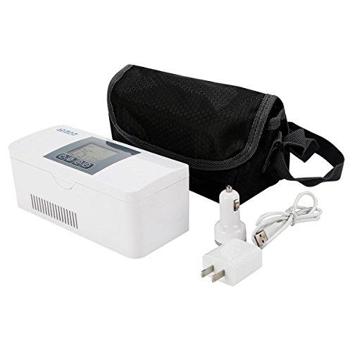 TC-Home Portable Travel Medicine Freezer Mini Fridge Case Diabetic Insulin Cooler Box Car Refrigerator 2-8 ℃ (Mini Freezer Medicine)