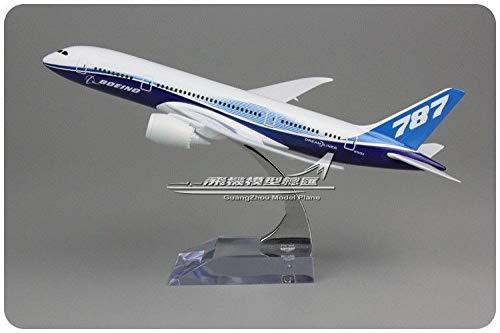 FidgetGear 20CM Solid Boeing 787-8 Passenger Airplane Plane Aircraft Metal Diecast Model from FidgetGear