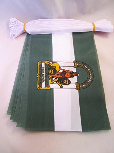 Amazon.com: Bandera de Andalucía 6 metros Bunting 20 ...