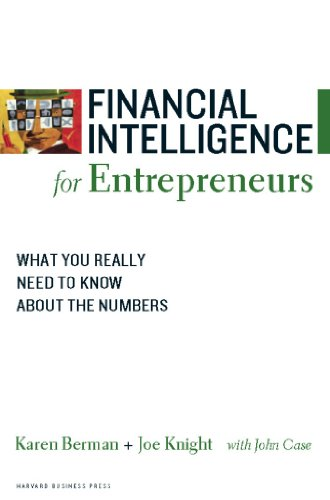 Pdf Business Financial Intelligence for Entrepreneurs: What You Really Need to Know About the Numbers