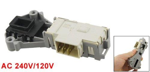 DealMux pl/ástico cerradura de puerta de bloqueo reparaci/ón de piezas para la lavadora