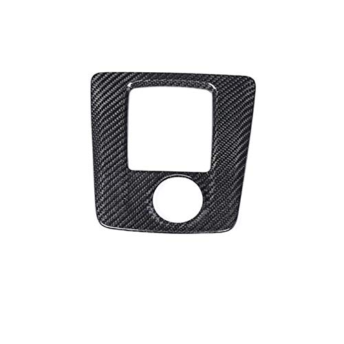 silutong Carbon Fiber for 2016 + Benz LHD A45 AMG CLA45 AMG GLA45 AMG Lci Cigarette Ashtray Gear Shifter Panel Cover Trim