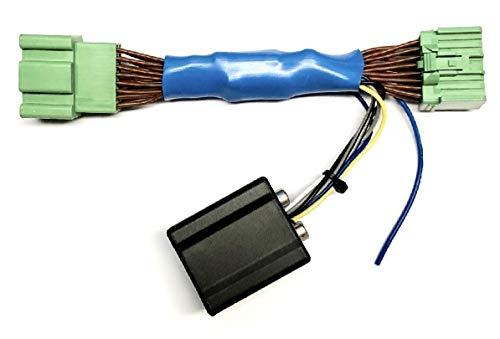 Add An Amp Amplifier Adapter Interface w/Amp Remote Turn On Wire to Factory OEM Car Stereo Radio System for select GM Chevrolet GMC Vehicles- Add Subwoofer Bass Amp etc.- No Factory Premium Amp/Bose- Vehicles listed below
