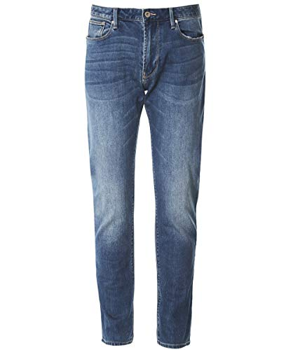 Armani Men's J06 Slim Fit Jeans Denim Blue 36 Regular