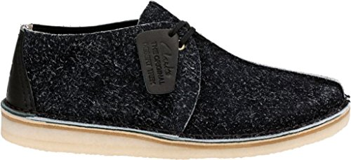 Hairy M CLARKS Men's Suede Black Desert Trek x7qCn01XC