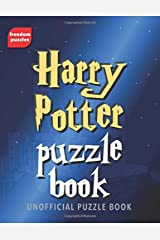 Harry Potter Puzzle Book: Solve over 100 puzzles using words from J.K Rowling's magical books and films including Hogwarts, the characters you love, ... unofficial collection of wizardly challenges Paperback