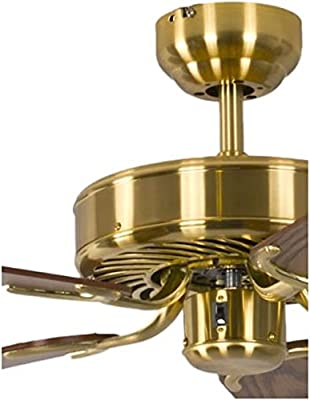 Pepeo GmbH 13332010132_v2 Ventilador de techo, 58 W, 240 V, Dorado ...