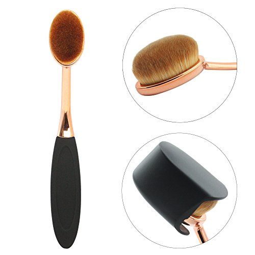 Makeup Brushe,MMlove Oval Make up Brush Foundation Cream Powder Blush...