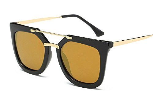 Flat Top Sunglasses Women Brand Designer Vintage Fashion Retro Big Frame - Reyban Goggles