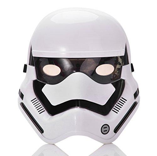 REINDEAR Costume Star Wars LED Light up Eye Mask US Seller (Stormtrooper)