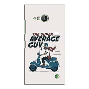 Cover It Up - Super Average Guy Lumia 730 Hard Case