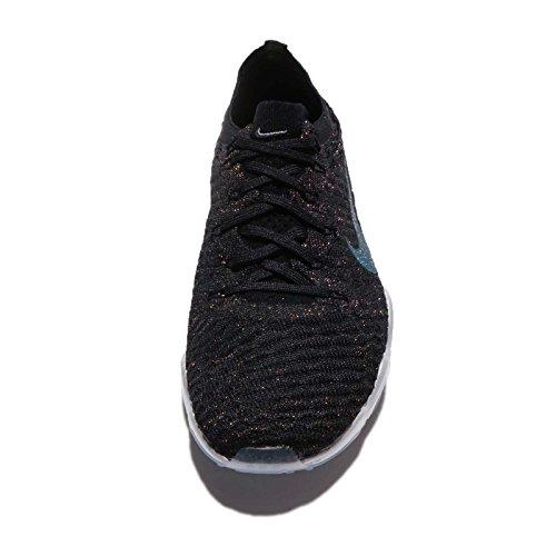 Nike Donne Zoom Aria Allenatore Senza Paura Fk Metallizzato, Nero / Grigio Scuro Metallico 8.5