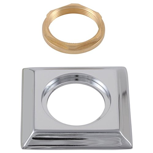 (Delta RP53410 Replacement Hand Shower Base with Gasket, Brilliance Polished Nickel)