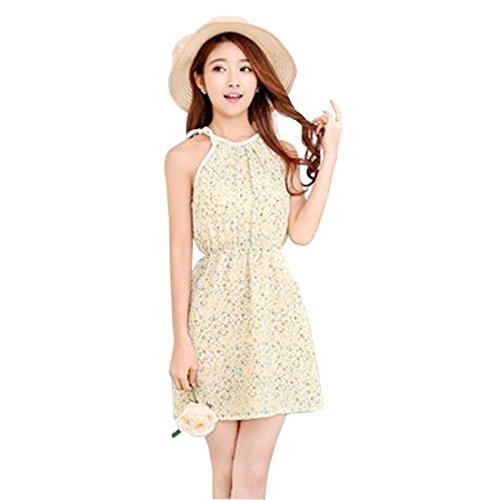 Qiyun - Vestido para mujer 9 small green