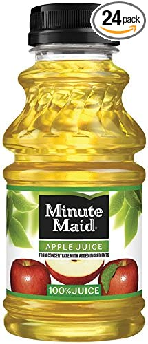 Minute Maid Juice, Apple, 10 Ounce (Pack of 24)