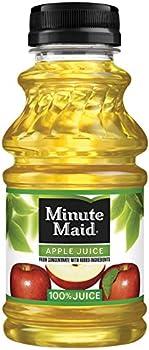 24-Pack Minute Maid Apple Juice (10 oz Bottles)