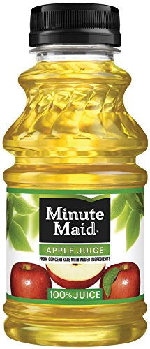 Minute Maid Apple Juice with vitamin C, Fruit Juice Drink, 10 fl oz, 24 Pack