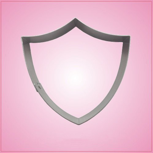 3 Point Shield Cookie Cutter 4 Inch (Shield Cookie Cutter)