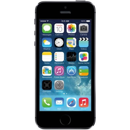 Straight Talk Apple iPhone 5S 16GB 4G LTE Prepaid Smartphone, 250 hours Hours Battery Life, Space Gray Color